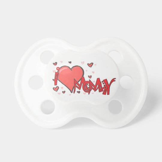 I heart Mommy Pacifier