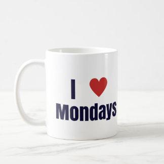 I heart Mondays mug