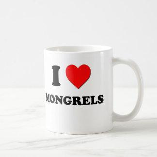 I Heart Mongrels Coffee Mug