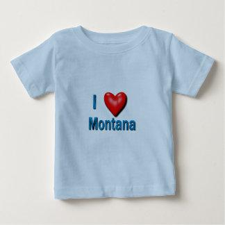 I Heart Montana Baby T-Shirt