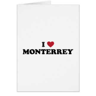 I Heart Monterrey Mexico Card
