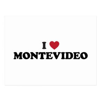 I Heart Montevideo Uruguay Postcard