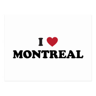 I Heart Montreal Canada Postcard