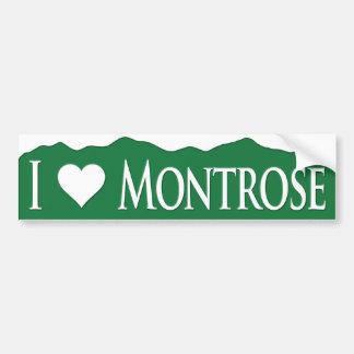I <heart> Montrose Bumper Sticker