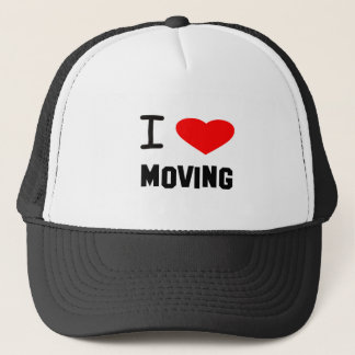 I Heart moving Trucker Hat