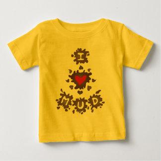 I Heart Mud Baby T-Shirt