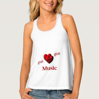 I Heart Music Tank Top