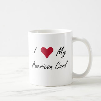 I Heart My American Curl Coffee Mug