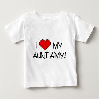 I (heart) my Aunt Amy! Baby T-Shirt