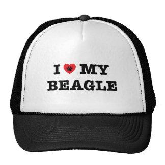 I Heart My Beagle Trucker Hat
