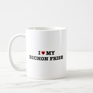 I Heart My Bichon Frise Coffee Mug