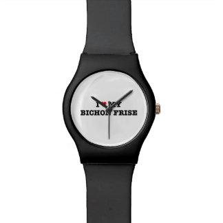 I Heart My Bichon Frise May28th Wrist Watch