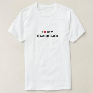 I Heart My Black Lab T-Shirt