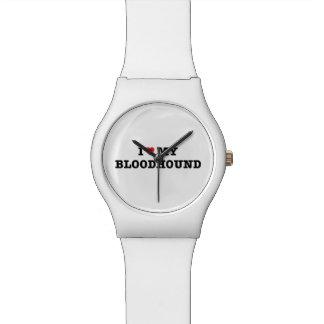 I Heart My Bloodhound May28th Wrist Watch