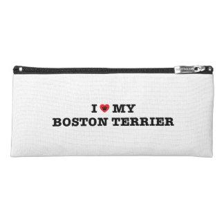 I Heart My Boston Terrier Pencil Case