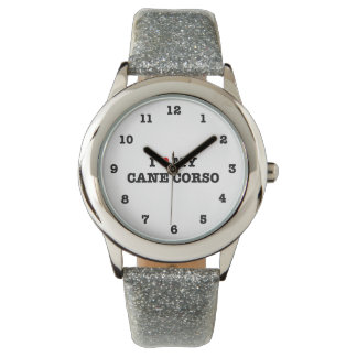 I Heart My Cane Corso Numbered Wristwatch