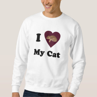 I Heart My Cat Sweatshirt
