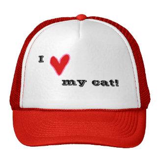 I Heart My Cat! Trucker Hat