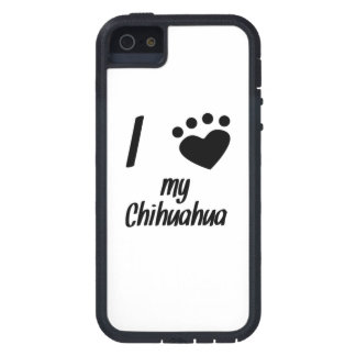 I Heart My Chihuahua iPhone 5 Case