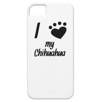 I Heart My Chihuahua iPhone 5 Cases