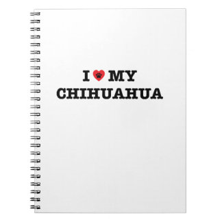 I Heart My Chihuahua Notebook