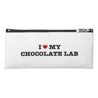 I Heart My Chocolate Lab Pencil Case