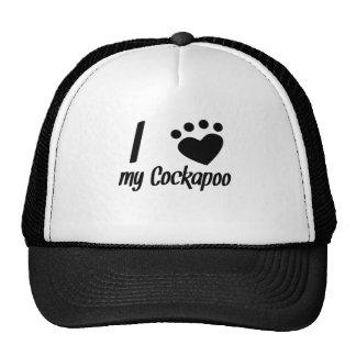 I Heart My Cockapoo Mesh Hat