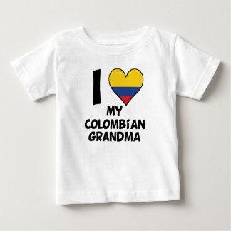 I Heart My Colombian Grandma Baby T-Shirt