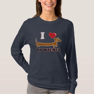 I Heart my Dachshund Wiener T-Shirt