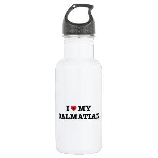 I Heart My Dalmatian Water Bottle