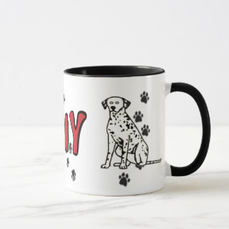 I Heart My Dalmation Mug