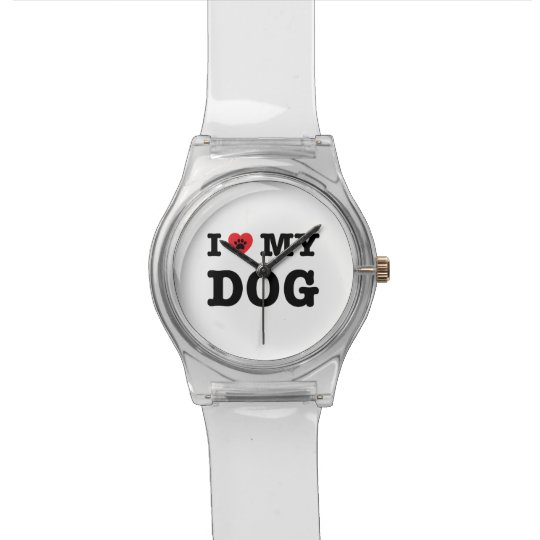 I Heart My Dog Watch