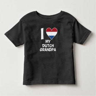 I Heart My Dutch Grandpa Toddler T-shirt