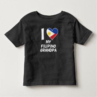 I Heart My Filipino Grandpa Toddler T-shirt