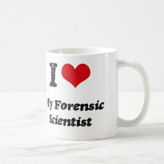 I heart My Forensic Scientist Coffee Mug
