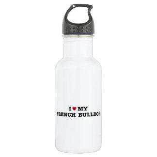 I Heart My French Bulldog 532 Ml Water Bottle
