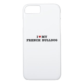 I Heart My French Bulldog Case-Mate iPhone Case