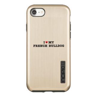 I Heart My French Bulldog Incipio DualPro Shine iPhone 8/7 Case