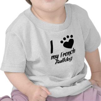 I Heart My French Bulldog T-shirt