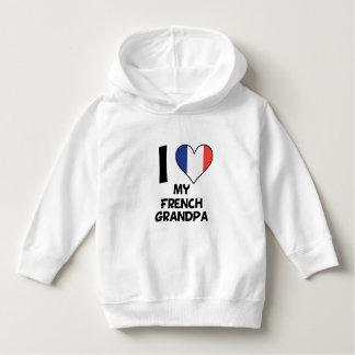 I Heart My French Grandpa Hoodie