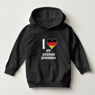 I Heart My German Grandma Hoodie