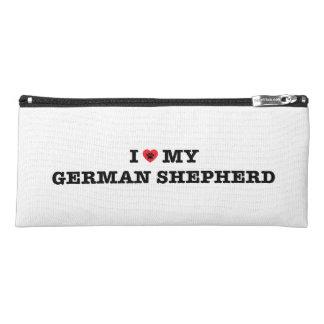 I Heart My German Shepherd Pencil Case