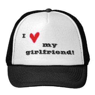 I heart my girlfriend! trucker hat
