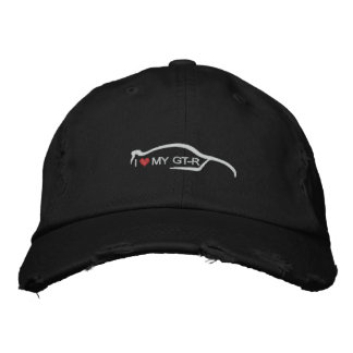 I Heart My GT-R Embroidered Baseball Cap