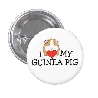 I Heart My Guinea Pig Button