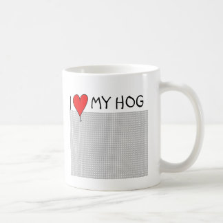 I Heart My Hog Mug