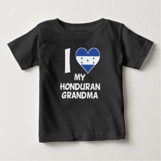 I Heart My Honduran Grandma Baby T-Shirt