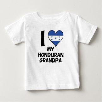 I Heart My Honduran Grandpa Baby T-Shirt