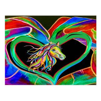 I HEART my HORSE! Postcard