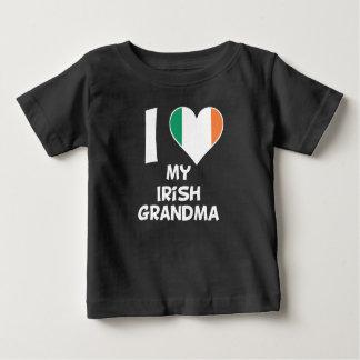 I Heart My Irish Grandma Baby T-Shirt